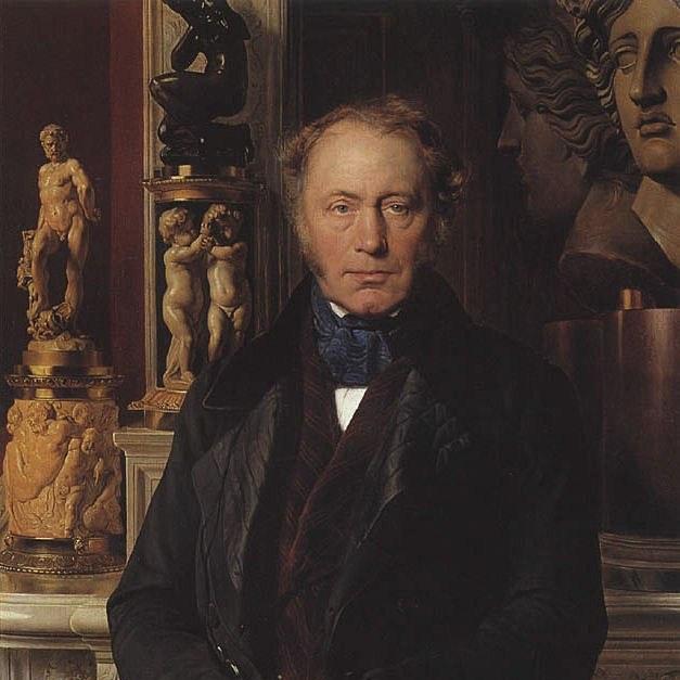 """Огюст Конт, французкий ученый, ввел термин """"социология"""" в 1842 г."""