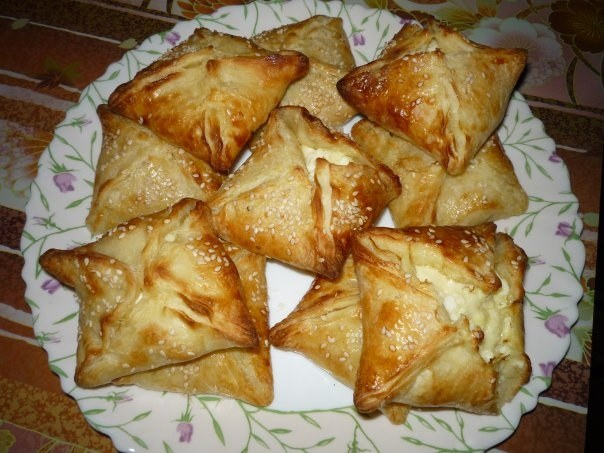 That you can bake yeast puff pastry