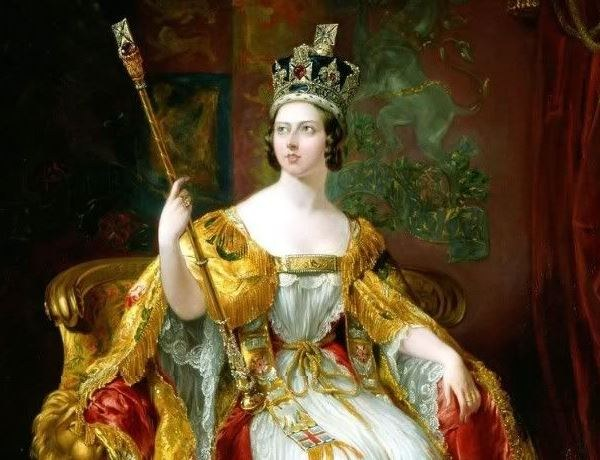 Queen Victoria, the personification of the Victorian era, the heyday of the British Empire