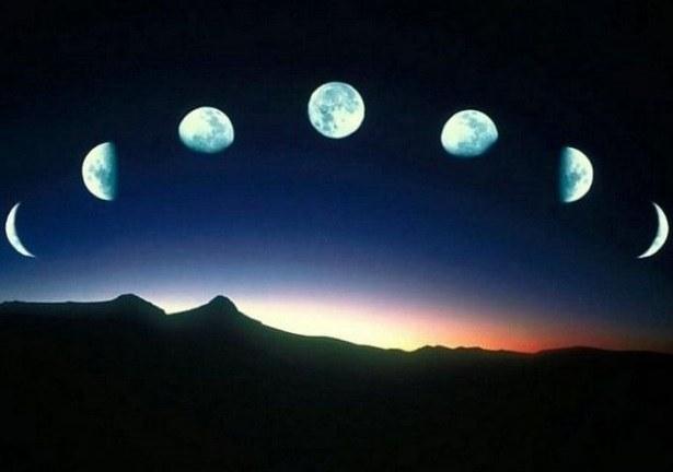 Как узнать какая луна - растущая или убывающая?