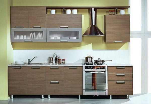 Planned kitchen: standard sizes gas stoves