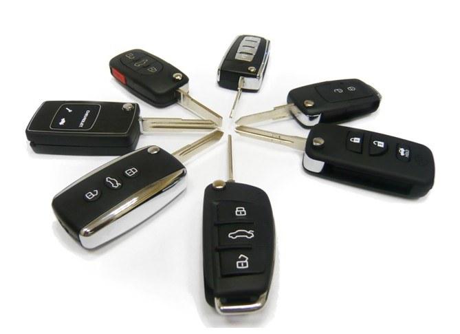 Ключи зажигания со встроенным чипом