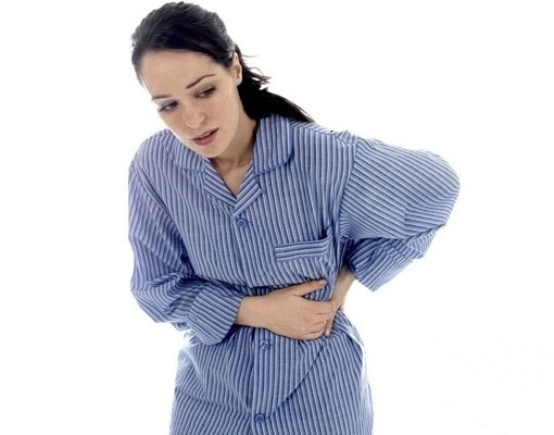 What does the pain under the left rib