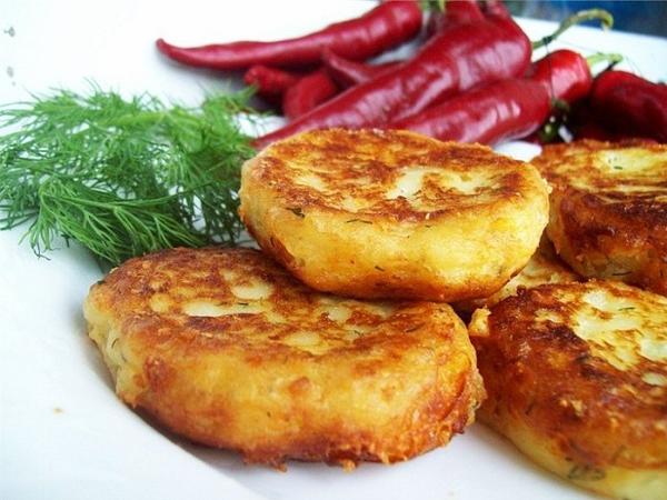 Как приготовить котлеты из картофельного пюре