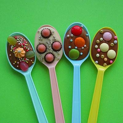 """Сладкие сувениры """"Ложки, полные шоколада"""""""