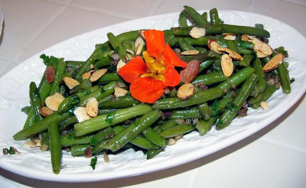 Рецепты салатов со стручковой фасолью