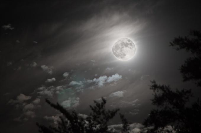Full moon men's passions boil