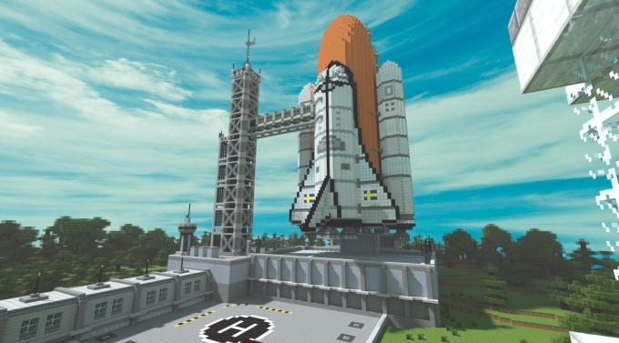 Сделать в Майнкрафте портал в космос - просто