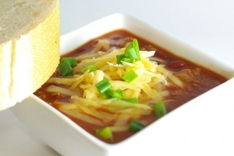 Суп чили с фасолью