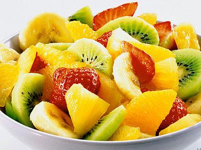 Легкий вкусный фруктовый десерт.