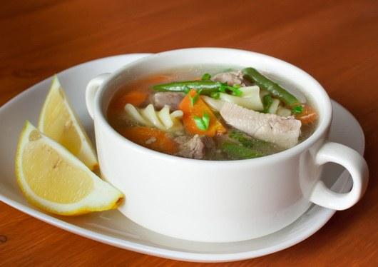 Супы из индейки вкусны и полезны
