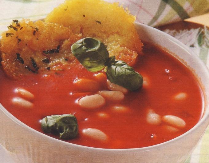 Суп с чипсами