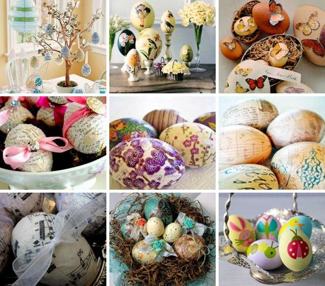 Праздник Пасха. Украшаем пасхальные яйца