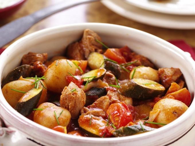 Как приготовить соте из курицы и овощей