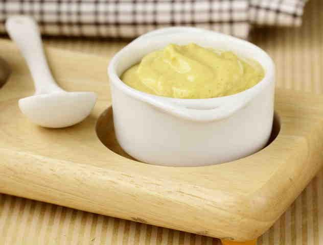 Салат под  апельсиново-горчичным соусом