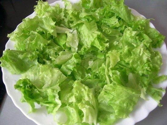 Легкие овощные закуски