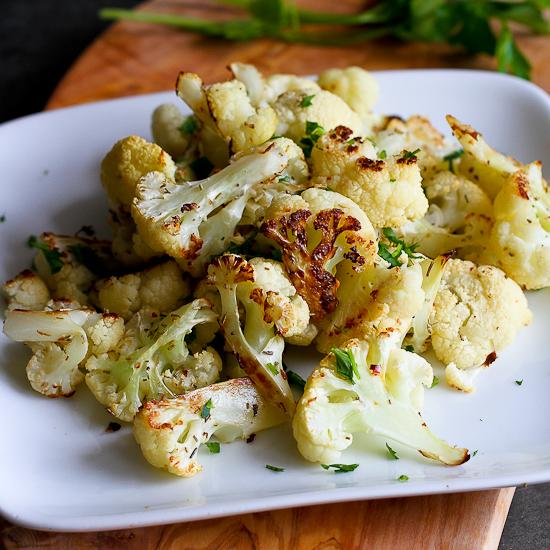 Как приготовить жареную цветную капусту с розмарином