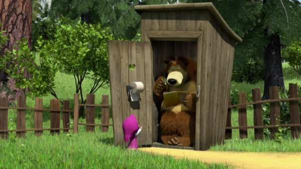 "What 13 series of the cartoon ""Masha and the Bear"""