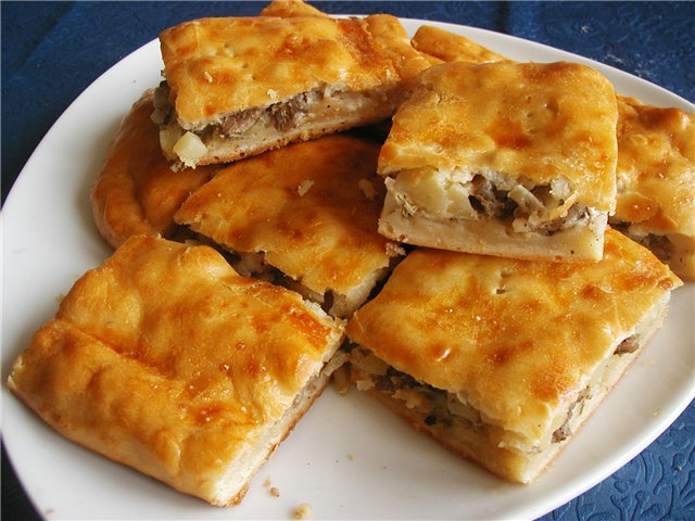 Пирог из картофеля