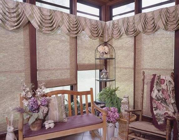 Как выбрать занавески для балкона