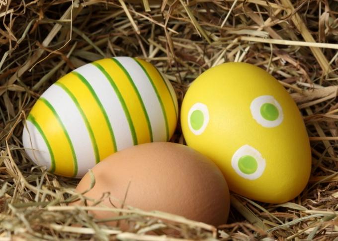 Что означают пасхальные яйца