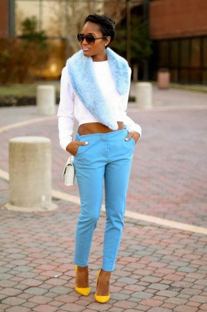 Как одеваться в пастельных тонах