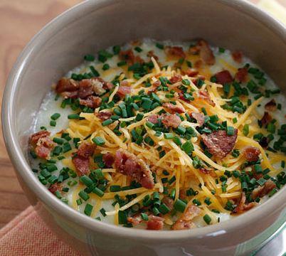 Как приготовить запеченный картофельный суп