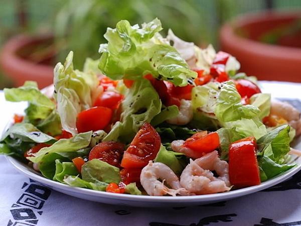 Витаминный салат морской