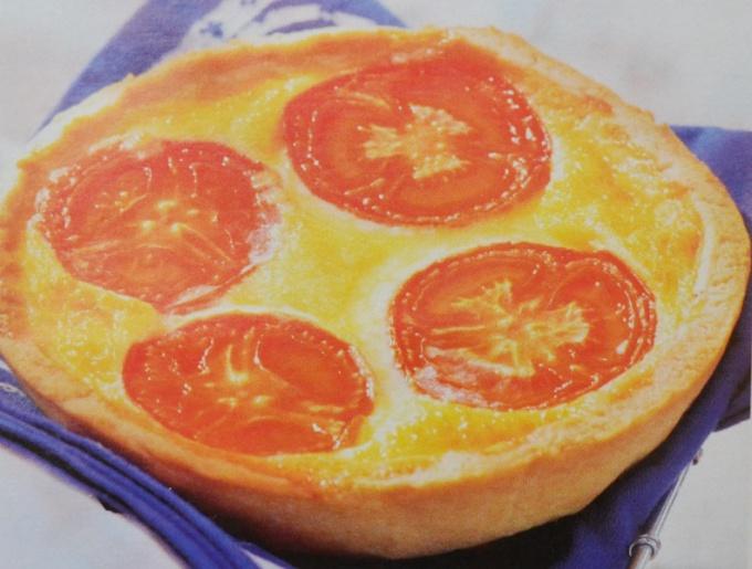 Нежные томатные тарталетки