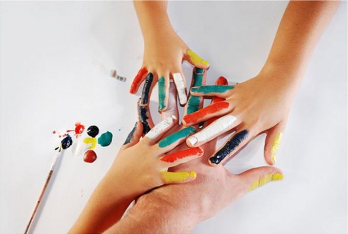 Как сделать пальчиковые краски для самых маленьких