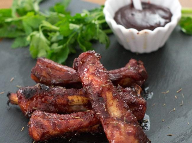 Как приготовить свиные ребрышки в соусе хойсин