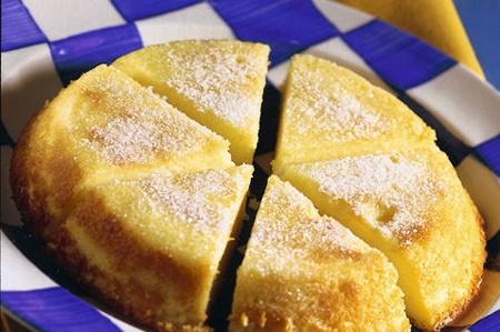 Торт из манной крупы