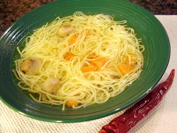"""Как приготовить суп """"Уйхази"""""""