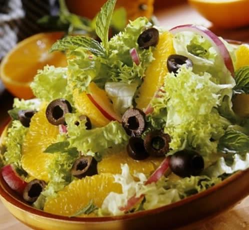 Как просто сделать необычный апельсиновый салат