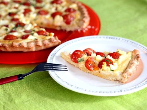Как готовить сырный киш с томатами