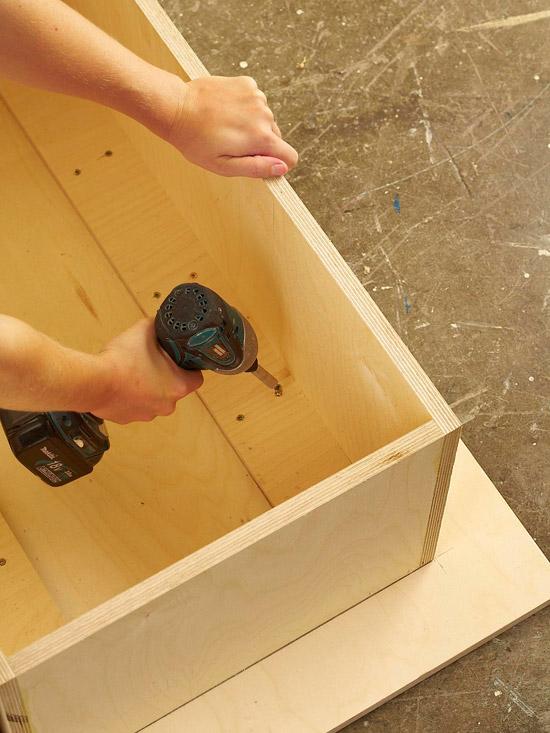 Как сделать журнальный столик из бревен