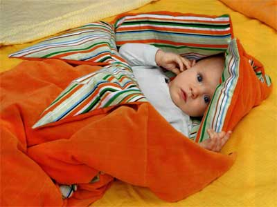 How to make a sleeping bag for toddler