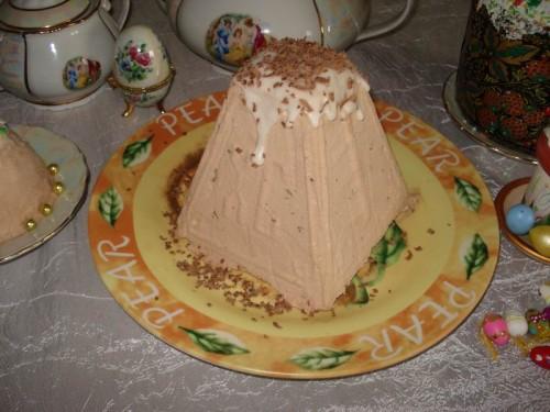 Как сделать шоколадно-ореховую пасху