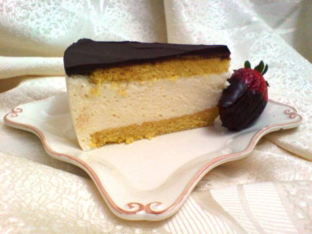 """Cake-souffle """"bird's milk"""""""
