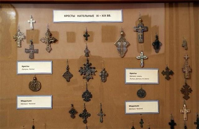 Нательные кресты IX-XIX вв