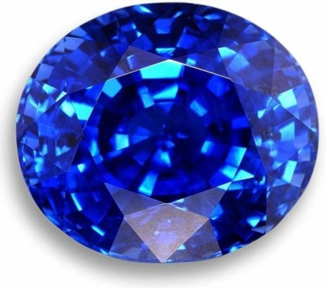 How to distinguish sapphire from glass mineral