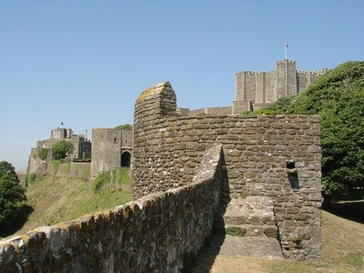 Dover castle in England was built by order of king Henry the Second to the year 1100