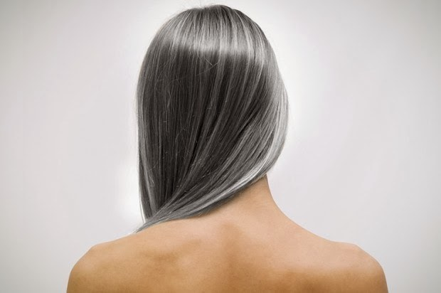 The appearance of the first gray hair is determined genetically