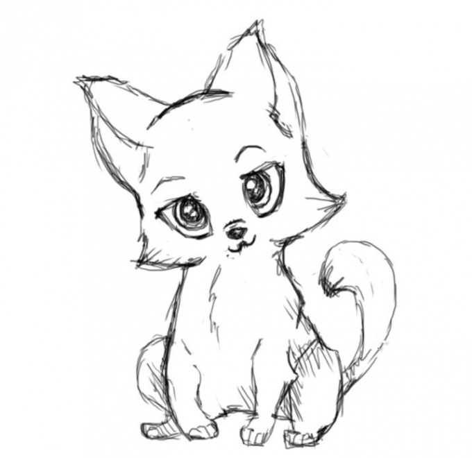 Как нарисовать животного пошагово