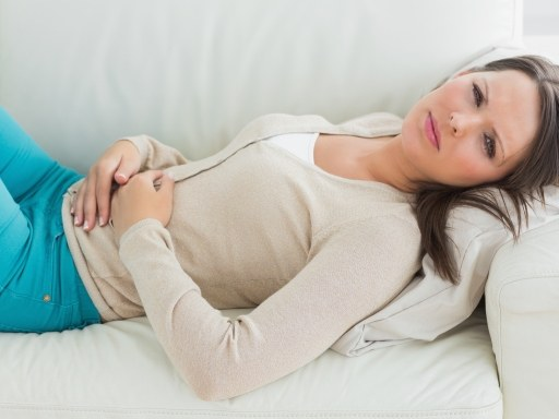 Why stomach hurts on the right