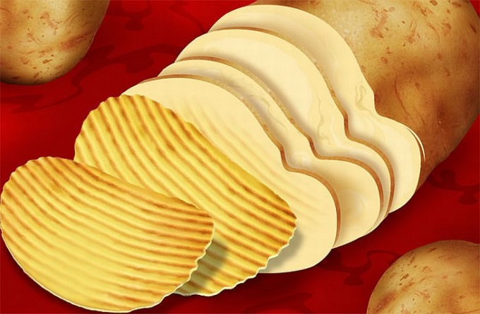 Как делают чипсы в 2018 году