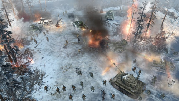 Игры-стратегии по Второй мировой войне