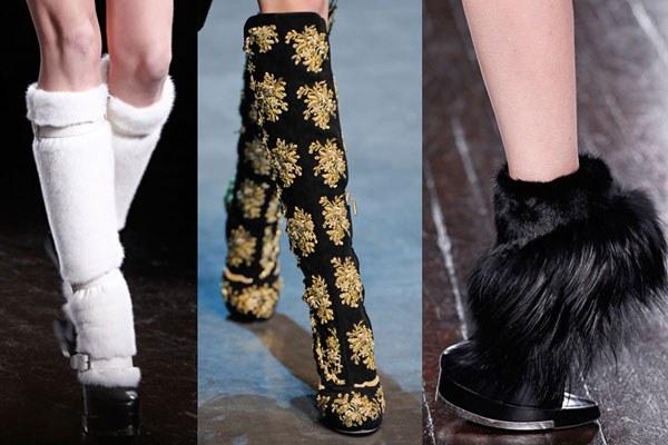 Осенние сапоги: модные тенденции