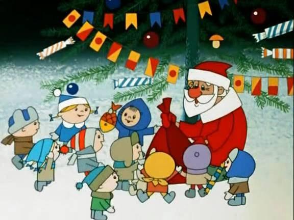 Дед Мороз из мультфильма