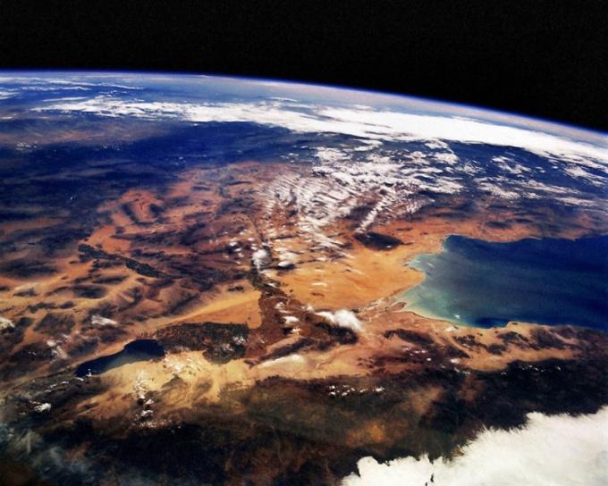 Планета Земля: вид из космоса
